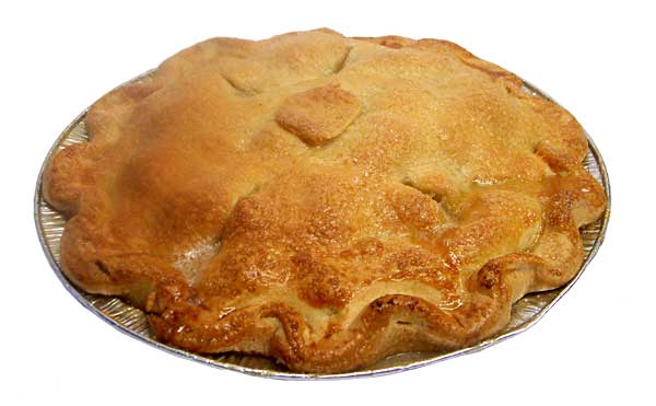 English Bramley Apple Pie
