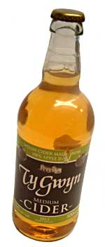 Ty Gwyn Medium Cider