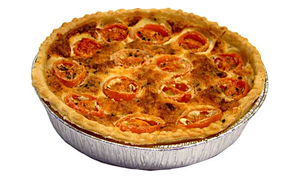 Cheese & Cherry Tomato Tart